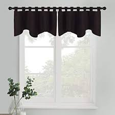Bathroom valance curtains Swags Pony Dance Window Valance Curtains Home Decor Valances Bedroom Thermal Insulated Tab Top Scalloped Curtain Amazoncom Amazoncom Pony Dance Window Valance Curtains Home Decor Valances
