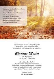 Gedenkbilder Trauerdanksagungen Nach Trauerfall Beerdigung Und