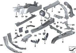 realoem com online bmw parts catalog wiring harness covers cable ducts