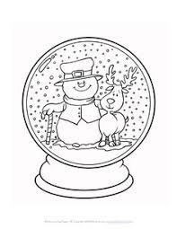 Small Picture Snowman Snowglobe by Bird Staat ook nog 1 met boompjes en een huis