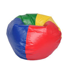 bean bag chairs. Ace Casual Furniture Multi-Color Vinyl Bean Bag Chairs