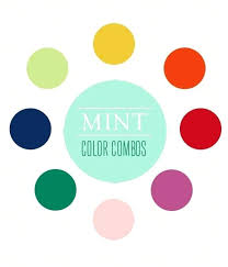 what colors make mint green mint color combos rosy glasses what colors  match mint green walls .