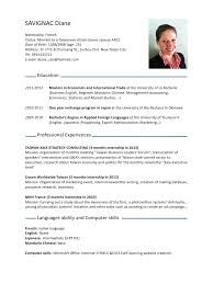 cv in english create best resume and all letter for cv cv in english create cv meaning in the cambridge english dictionary cvdianesavignacpdf par diane savignac fichier