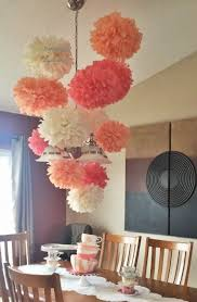 Tissue Balls Party Decorations 100 Tissue paper pom poms Wedding Baby Bridal shower Rehearsal 78