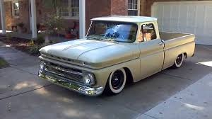 Pickup chevy c10 pickup truck : 1964 C10 Chevy pickup bagged - YouTube