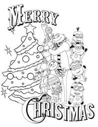 Small Picture Minion Christmas Holiday Coloring Christmas math coloring