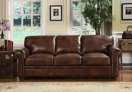 dark brown leather couches. Dark Brown Leather Sofa In Living Room With Suitcase Table And White Rug Rustic Couches O