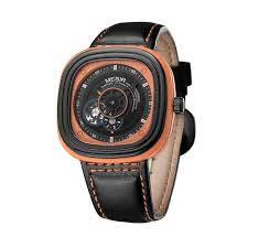 watches men luxury brand automatic self wind megir 3012 leather watches men luxury brand automatic self wind megir 3012 leather belt square water resistant male clock relogio masculino 2016 survival watches watches for