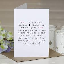 Mother Of The Bride Wedding Thank You Card By Slice Of Pie Designs