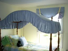 bedroom design canopy curtains