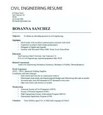 Engineering Student Resume Delectable Civil Engineering Student Resume Example Engineer Template Sample
