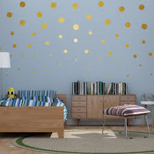 inch gold wall art stickers decals