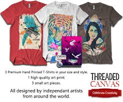 T Shirt Making Program Threaded Canvas A Monthly T Shirt Subscription Program Iamthetrend