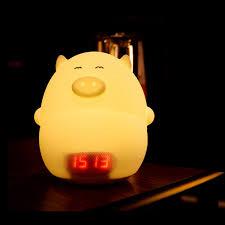 Amazon Child Night Light Amazon Com Ledmomo Children Night Light Alarm Clock Cute