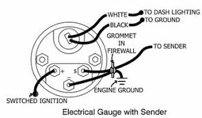 electric temperature gauge wiring diagram wiring diagram for gilmore global instruments temperature gauges rh gilmore global com aftermarket amp gauge wiring diagram aftermarket amp gauge wiring diagram