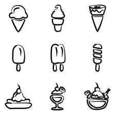 アイスクリーム アイコンのイラスト素材ベクタ Image 47307557