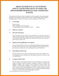 Event Planning Proposal Sponsorship Proposal Letter Template Samples Letter
