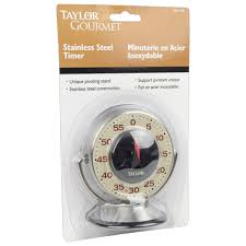 taylor stainless steel precision kitchen timer
