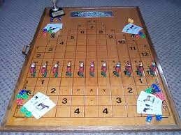 Wooden Horse Race Board Game Anyone know the Wood Horse Racing Game 2
