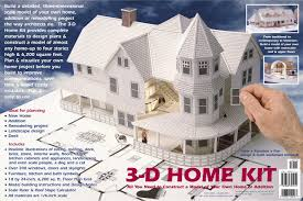 3-D Home Kit: All You Need to Construct a Model of Your Own Home or ...