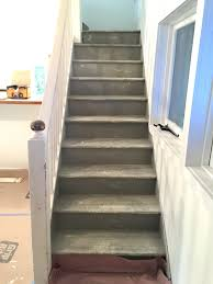 Best Paint For Stairs Facci Designs How To Paint A Staircase Black White Before And