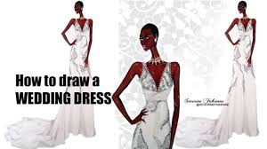 Drawn Gown Fashion Drawing Pencil And In Color Drawn Gown