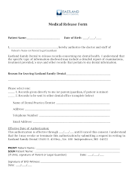 Medical Records Template Free Dental Medical Records Release Form Templates At