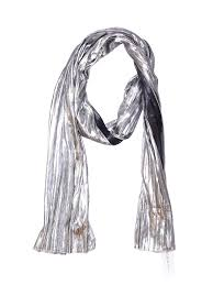 Details About Nwt Bcb Generation Women Silver Scarf One Size