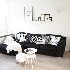 how to style a black sofa the marble home