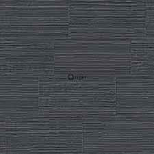 Origin Behang Natuursteen Motief Zwart 347572