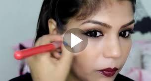 indian stani bridal party makeup tutorial