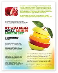 Apple Flyer Templates Cut Apple Flyer Template Background In Microsoft Word Publisher