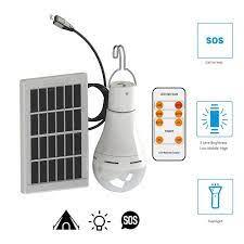 Taşınabilir LED güneş lambası şarjlı güneş enerjili lamba paneli Powered  acil ampul açık bahçe kamp çadır balıkçılık|Akkor Ampuller