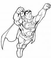 Superman Supereroe Da Colorare Cose Per Crescere
