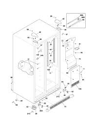 frigidaire model plhs269zcb2 side by side refrigerator genuine parts whirlpool ice maker wiring diagram Frigidaire Refrigerator Wiring Diagram #35
