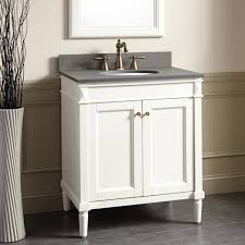 White Bathroom Vanity Cabinet 30 Chapman Vanity For Undermount Sink White Bathroom