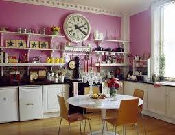 Bright Pink Kitchen from Desire to Inspire