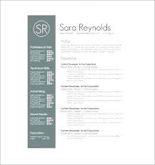 Award Winning Modern Resume Templates Free Download Free Clean Modern Resume Templates Cv Template Download Psd