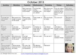 Weight Loss Calendar Weight Watcher Girl Weight Loss Motivation Printable Calendar