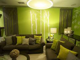 White And Green Living Room Awesome Minimalist Living Room Interior Decoration With Green