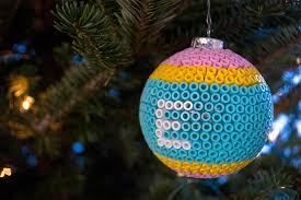 Decorating Christmas Ornaments Balls Decorate Glass Ball Christmas Ornaments with Perler Beads 63
