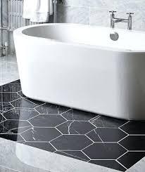 hexagon tile bathroom hexagon carbon polished tile hexagon bathroom tile patterns