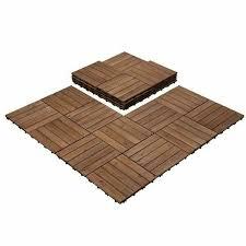 inch interlocking patio deck tiles