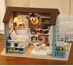 handmade dolls house furniture. Handmade Doll House Furniture Miniatura Diy Houses Miniature Dollhouse Wooden Toys For Children Grownups Birthday Dolls U