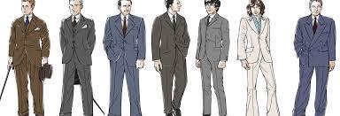 イラストで紐解くメンズスーツの歴史1920年代から現代まで Muuseo