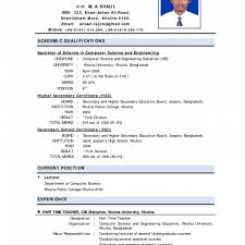 Free Resume Templates Format For Teachers Job In India Doc Paper