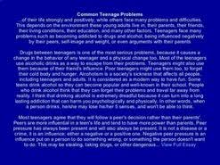 essay teenage problems  essay teenage problems