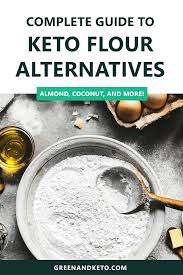 Flour To Coconut Flour Conversion Chart Guide To Keto Flour Substitutions Green And Keto