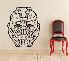 tokomonster bane dc comics 2 wall vynil home decal sticker medium large