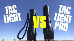 Tac Lights Tac Light Vs Tac Light Elite As Seen On Tv Review